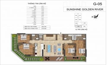 THIẾT KẾ CĂN HỘ 4 PHÒNG NGỦ SUNSHINE GOLDEN RIVER