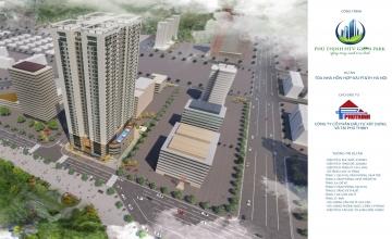 Mặt bằng tổng quan dự án Phú Thịnh Green Park